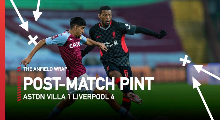Aston Villa 1 Liverpool 4 | The Post-Match Pint