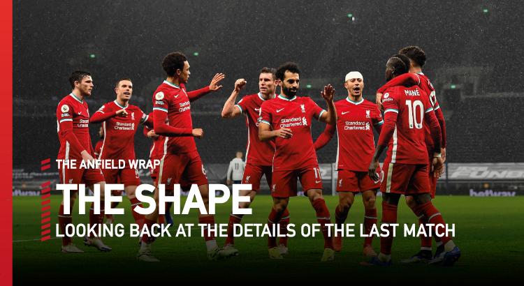 Tottenham 1 Liverpool 3   The Shape