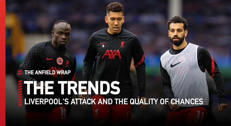 Liverpool's Attack And The Quality Of Chances | The Trends