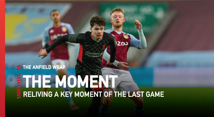 Aston Villa 1 Liverpool 4 | The Moment