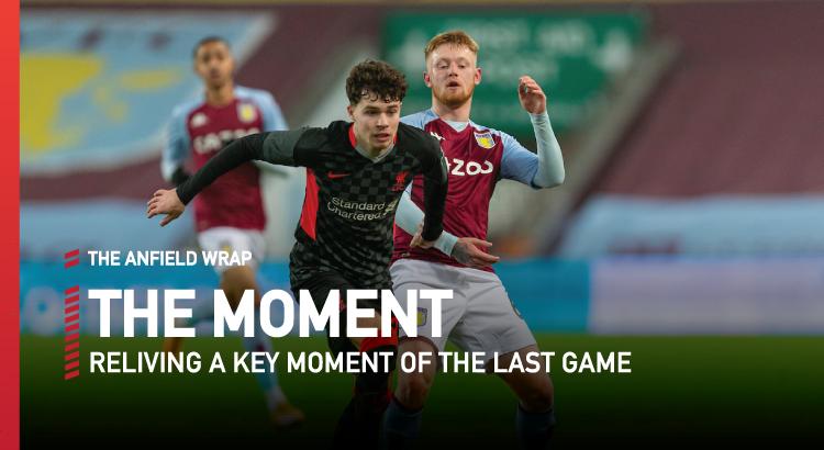 Aston Villa 1 Liverpool 4 | The Moment
