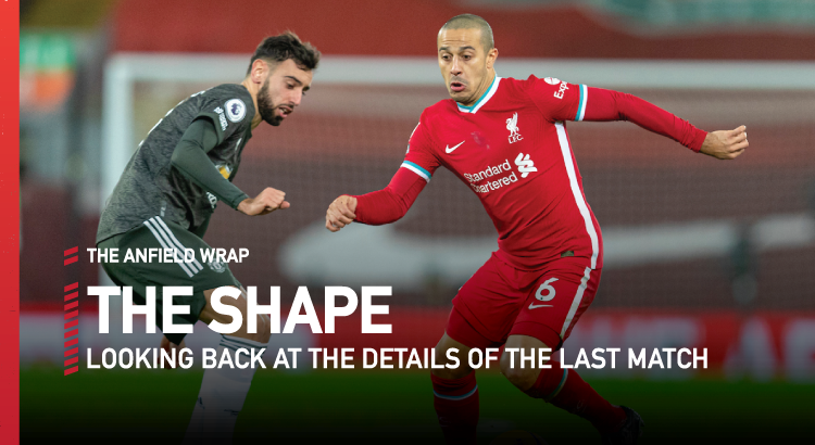 Liverpool 0 Manchester United 0 | The Shape