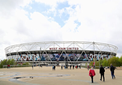 A general view of the London Stadium, home of West Ham United