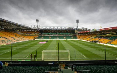 A general view of Norwich City's Carrow Road stadium