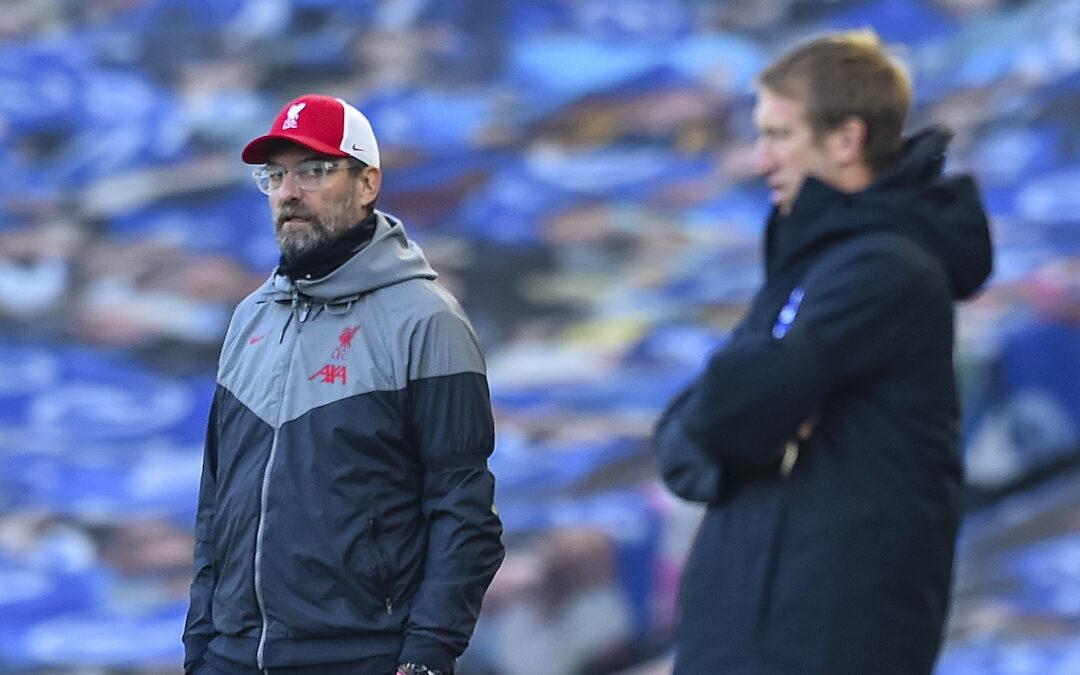 Liverpool v Brighton: The Big Match Preview