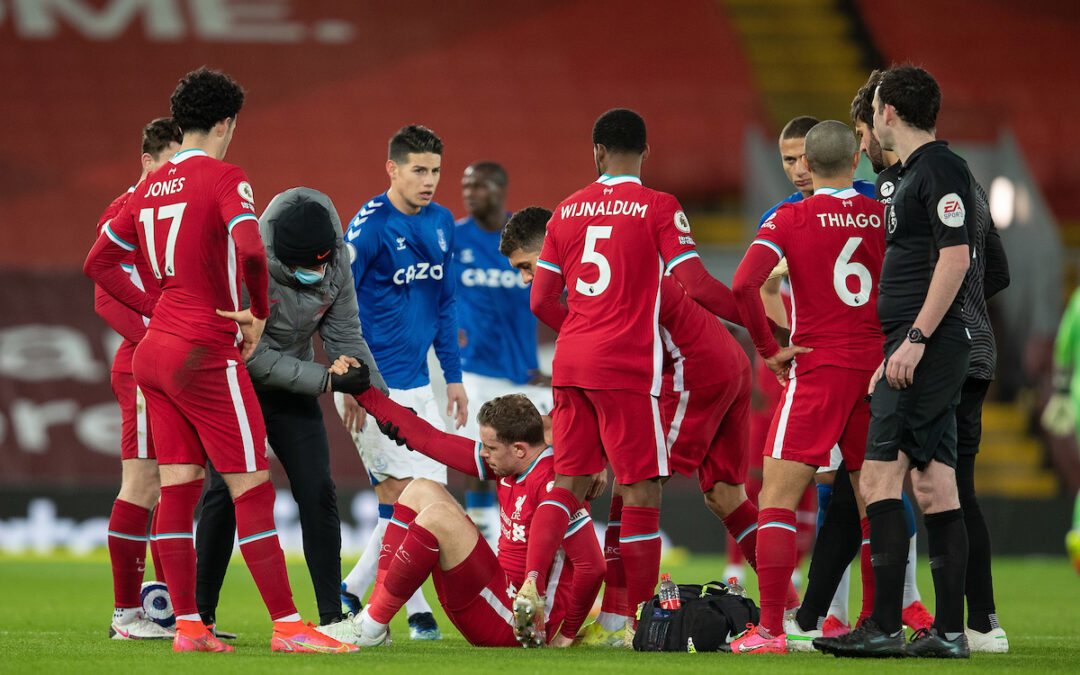 Liverpool 0 Everton 2: Match Ratings