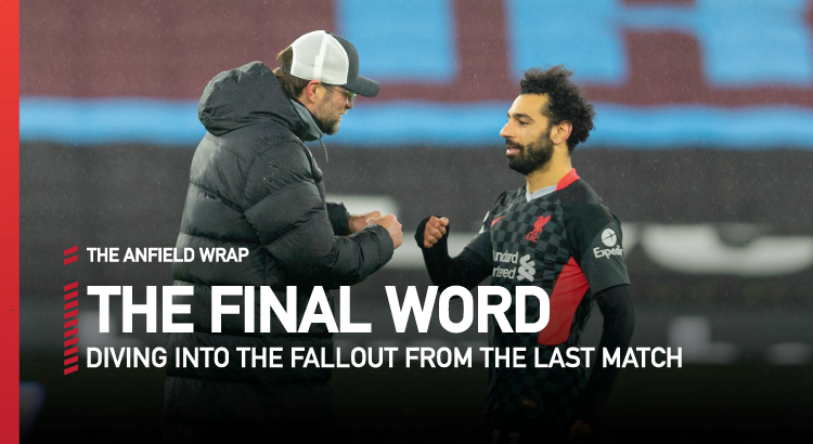 West Ham 1 Liverpool 3   The Final Word