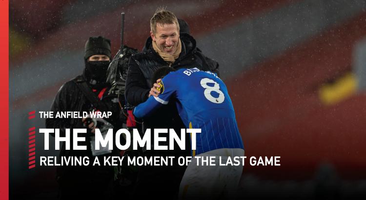 Liverpool 0 Brighton 1   The Moment