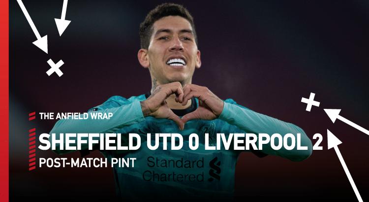 Sheffield United 0 Liverpool 2   The Post-Match Pint