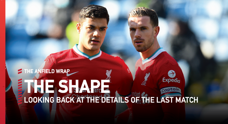 Leicester City 3 Liverpool 1 | The Shape