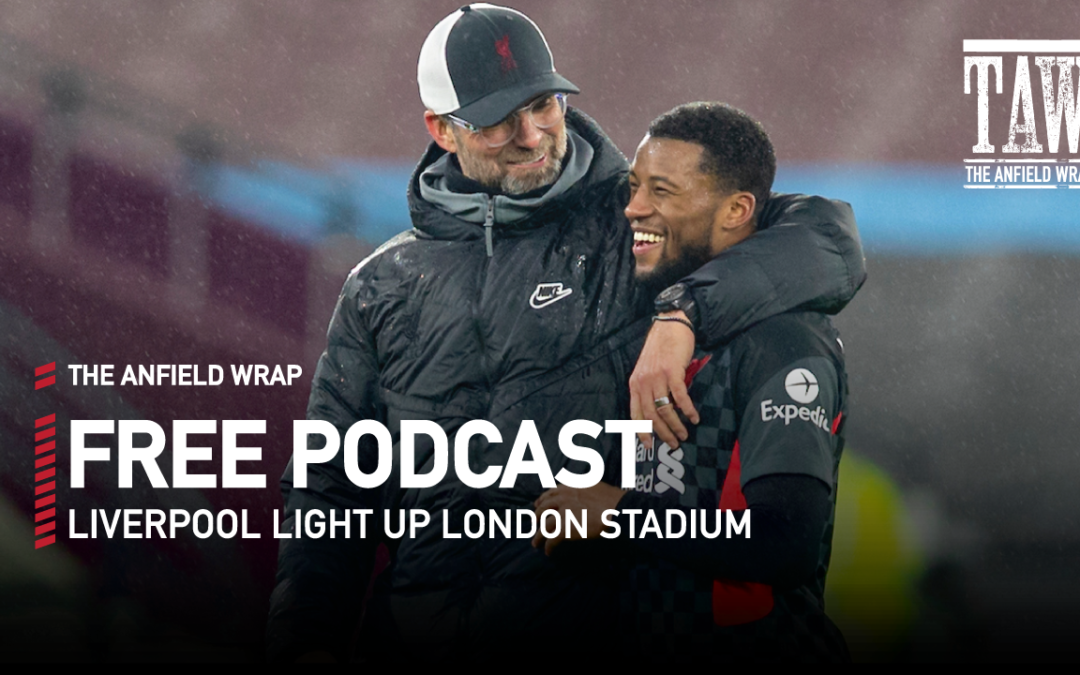 Liverpool Light Up London Stadium   The Anfield Wrap