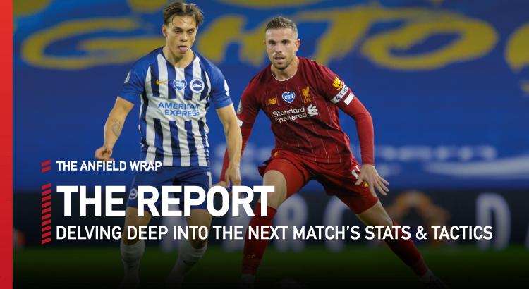 Liverpool v Brighton   The Report