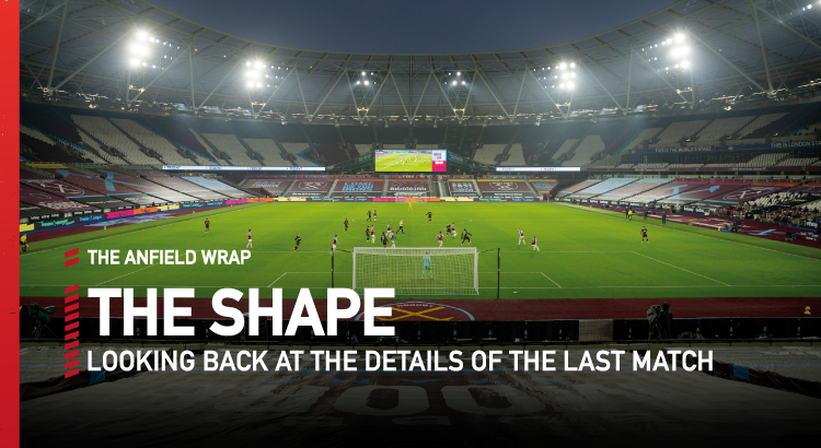 West Ham 1 Liverpool 3 | The Shape