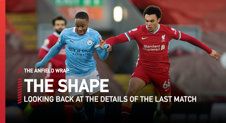 Liverpool 1 Manchester City 4 | The Shape