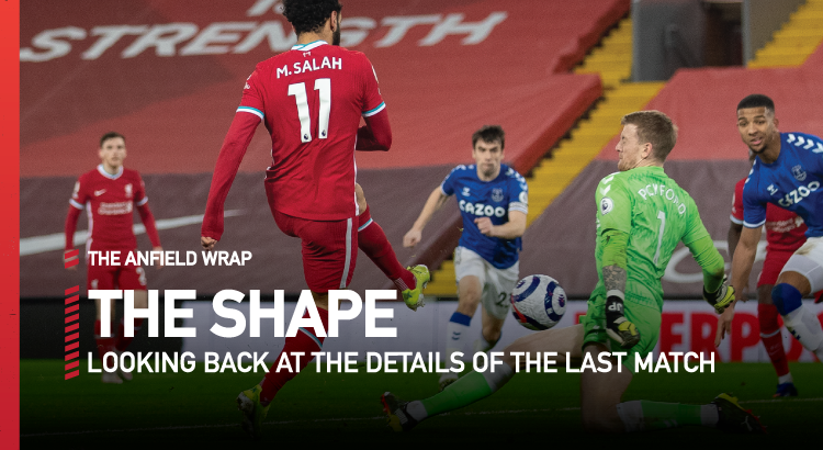 Liverpool 0 Everton 2 | The Shape