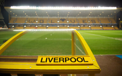 A general view of Molineux, the home of Wolves, before the Premier League match against Liverpool