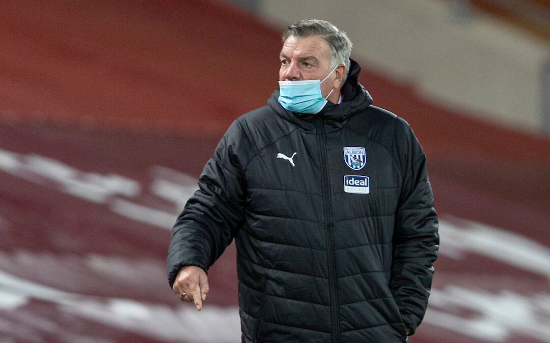 West Bromwich Albion's manager Sam Allardyce