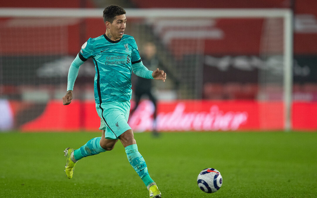 Why A Role Rethink May Reap Rewards For Firmino