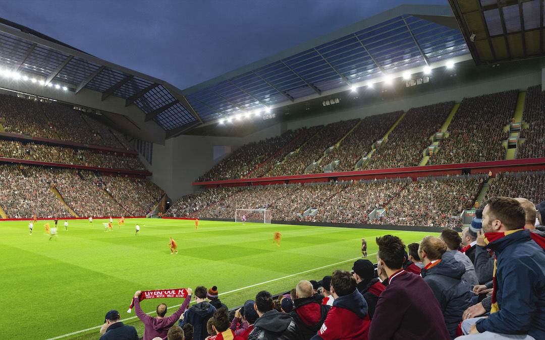 Anfield Road Expansion & Rail Seating: Reaction