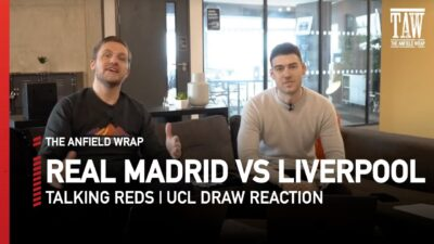 Gareth Roberts and Craig Hannan react to the Champions League quarter and semi-final draw as Liverpool face Real Madrid...
