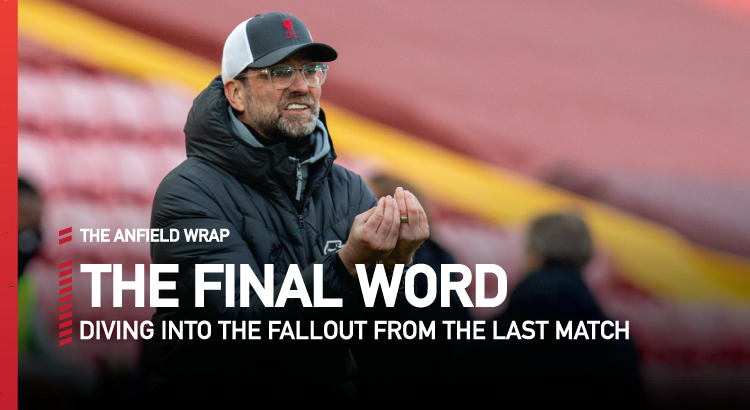 Liverpool 0 Fulham 1 | The Final Word