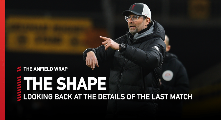 Wolves 0 Liverpool 1 | The Shape