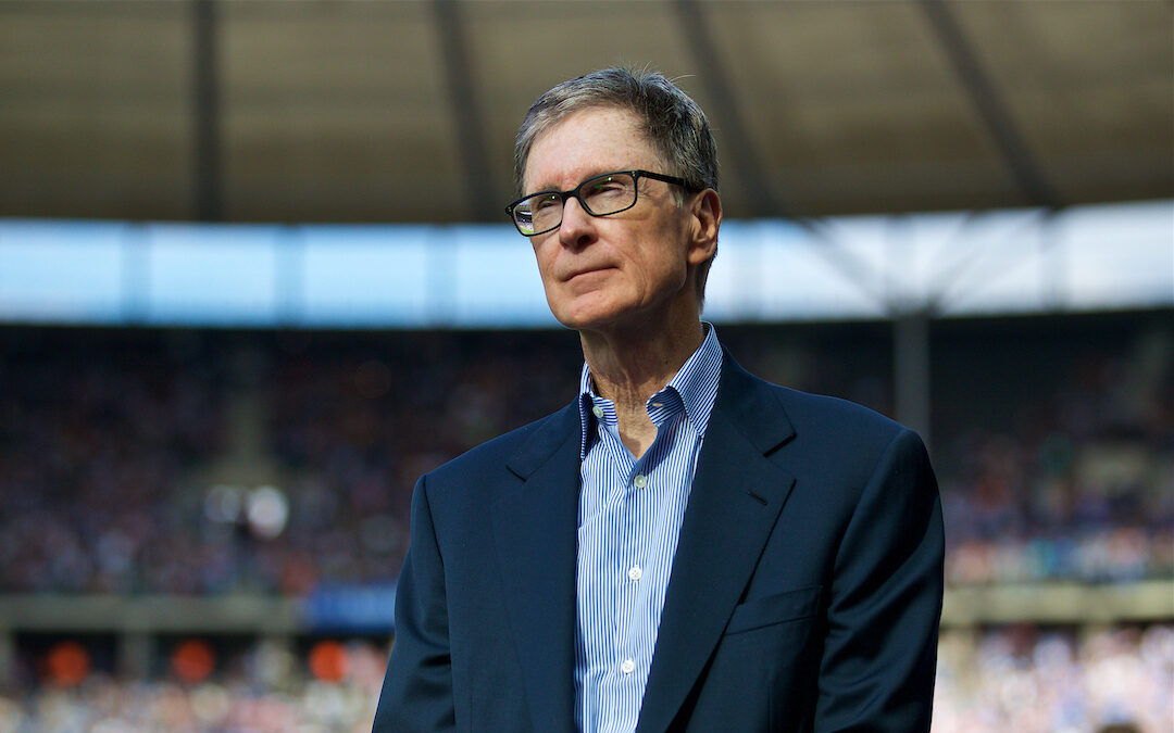Saturday, July 29, 2017: Liverpool FC owner John W. Henry before a preseason friendly match celebrating 125 years of football for Liverpool and Hertha BSC Berlin at the Olympic Stadium.