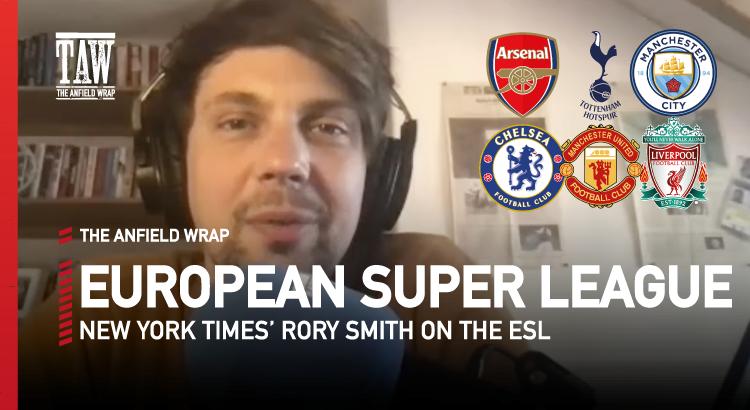 European Super League Reaction Video w/ Rory Smith