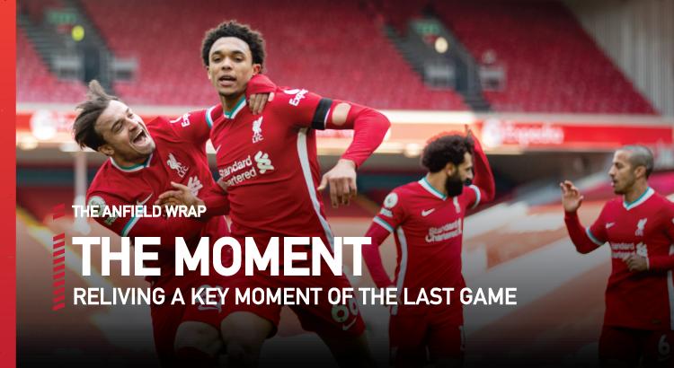 Liverpool 2 Aston Villa 1 | The Moment