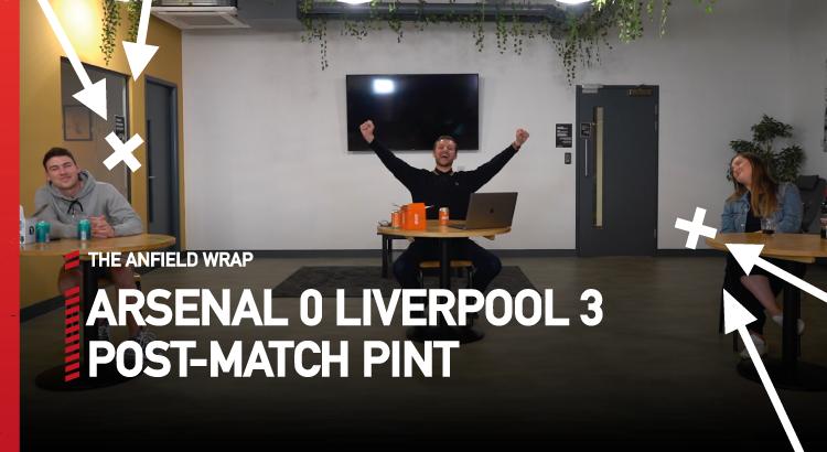 Arsenal 0 Liverpool 3   The Post-Match Pint