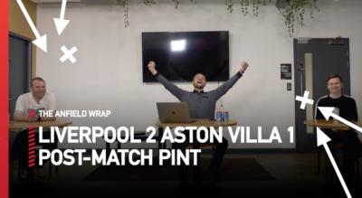 Liverpool 2 Aston Villa 1