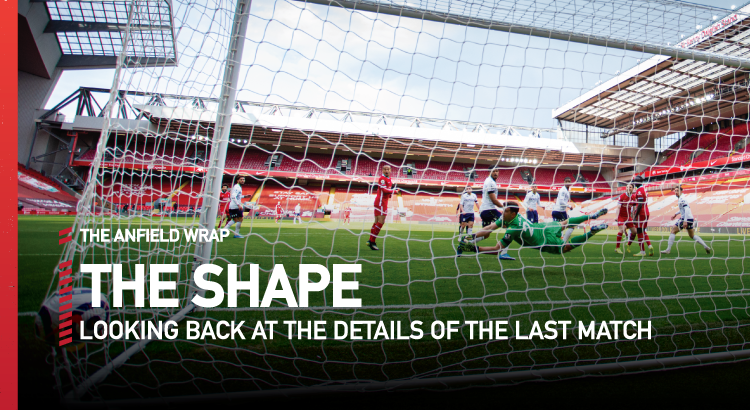 Liverpool 2 Aston Villa 1 | The Shape