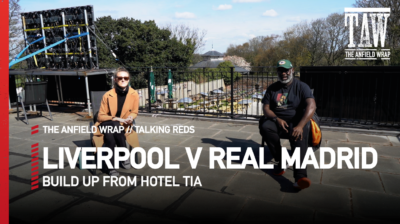 Mo Stewart is joined by Lizzi Doyle at Taggy's Bar in Anfield to build up to Liverpool v Real Madrid in the Champions League quarter finals...