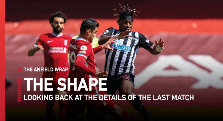 Liverpool 1 Newcastle United 1 | The Shape