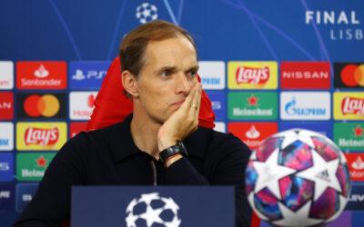 Thomas Tuchel after the UEFA Champions League Final