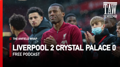 For our video podcast on Liverpool 2 Crystal Palace 0 at Anfield, Neil Atkinson hosts Rob Gutmann, Ian Salmon and Goal.com's Neil Jones…