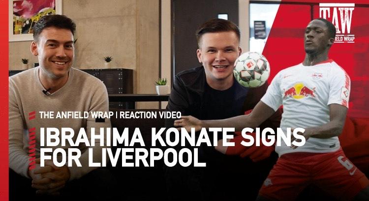 Ibrahima Konate Signs For Liverpool | Reaction Video