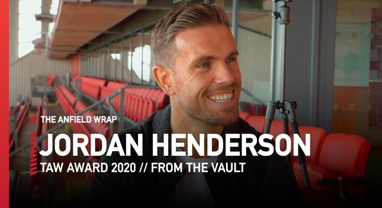 Jordan Henderson – TAW Award 2020 | From The Vault
