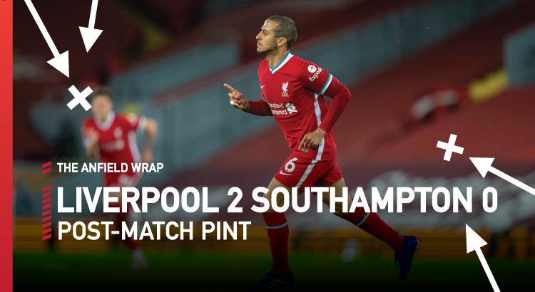 Liverpool 2 Southampton 0 | The Post-Match Pint