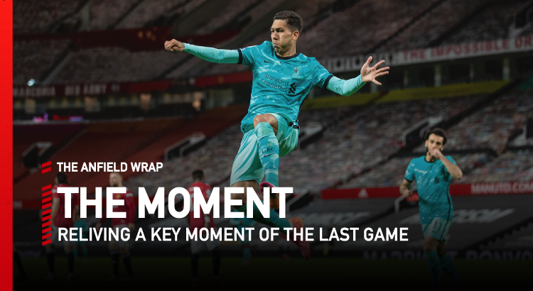 Manchester United 2 Liverpool 4 | The Moment