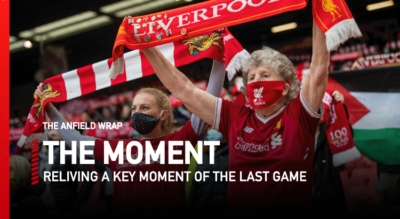 To relive a key moment from Liverpool 2 Crystal Palace 0 in the Premier League at Anfield, Gareth Roberts is joined by Rory Smith from the New York Times...