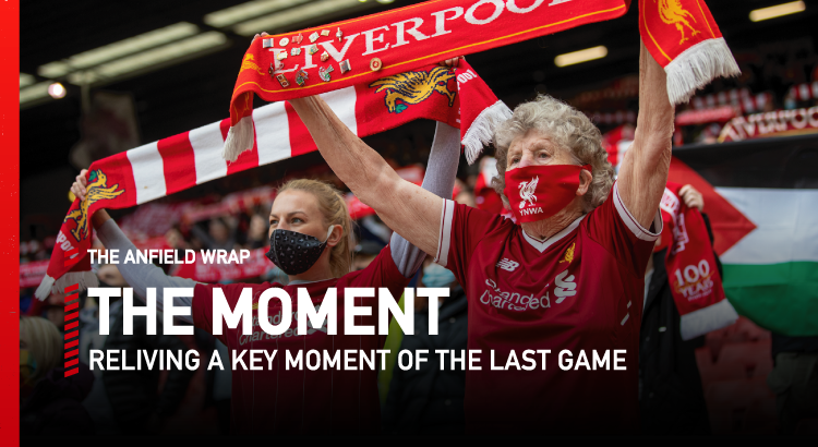Liverpool 2 Crystal Palace 0 | The Moment