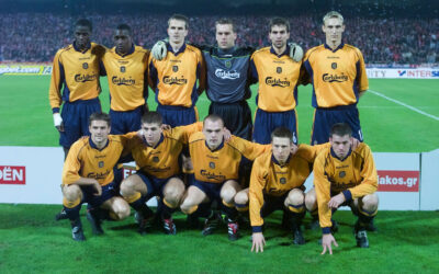 Liverpool FC players in 2000-01