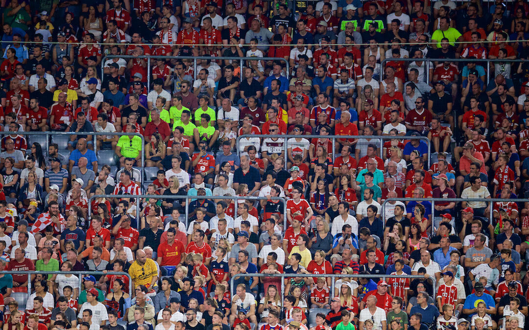 Liverpool FC Announce Rail Seating Trial: Fan Reaction