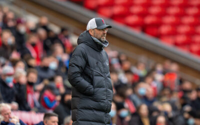 Liverpool's manager Jurgen Klopp during the final FA Premier League match between Liverpool FC and Crystal Palace FC at Anfield.