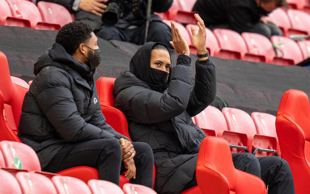 The Return Of Virgil Van Dijk: The Anfield Wrap