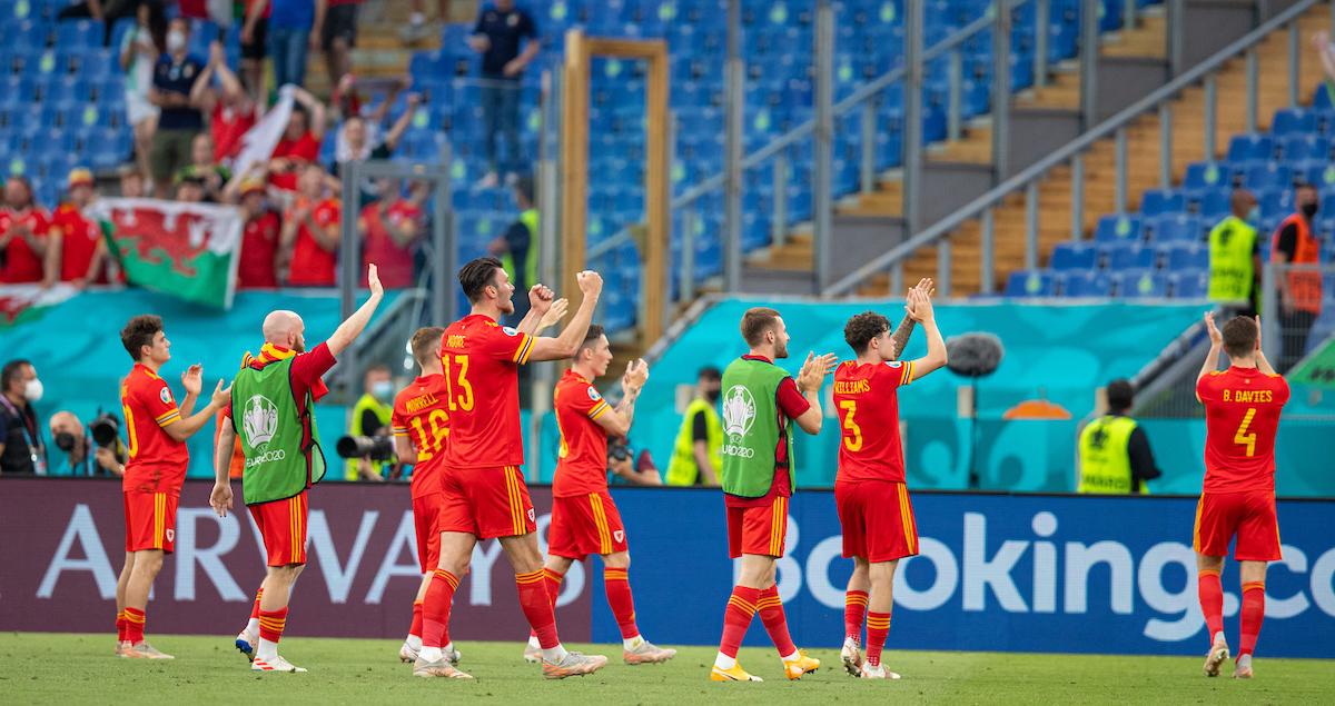 Wales players at EURO 2020