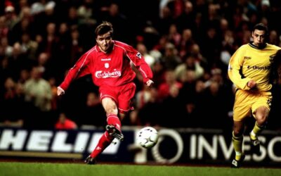 Reliving Liverpool FC v Crystal Palace in the 2001 League Cup semi final