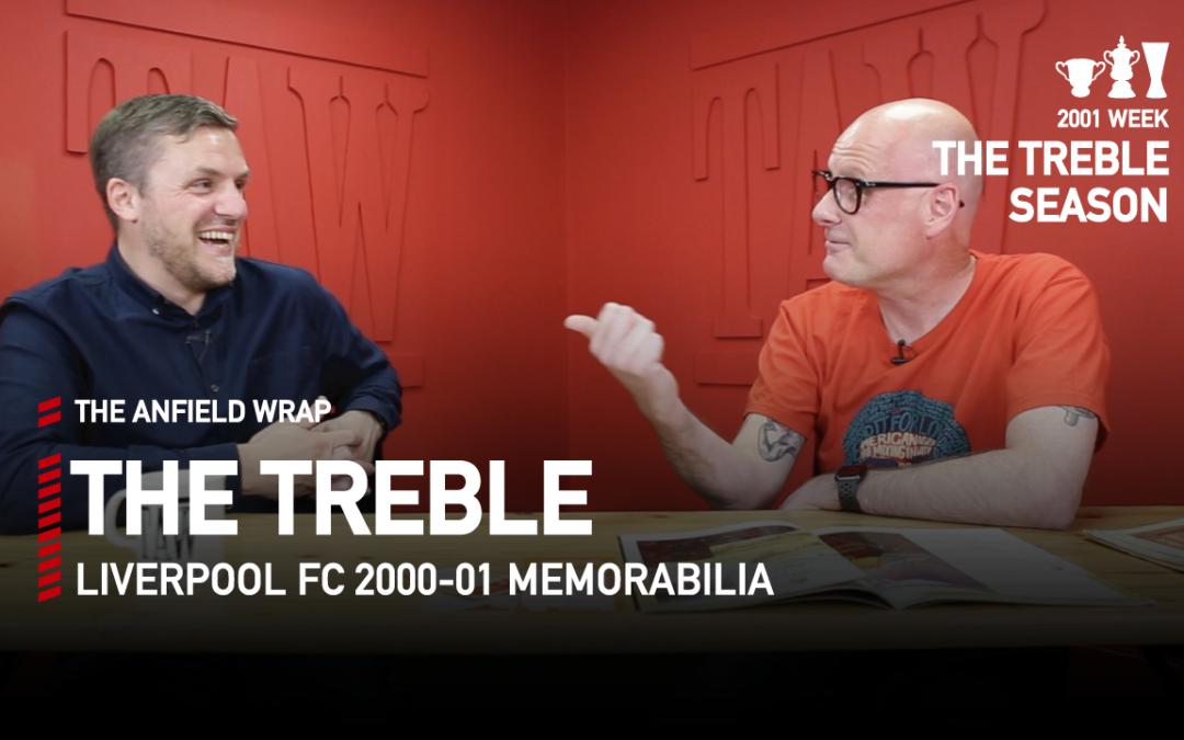 Liverpool FC 2000-01 Memorabilia | The Treble