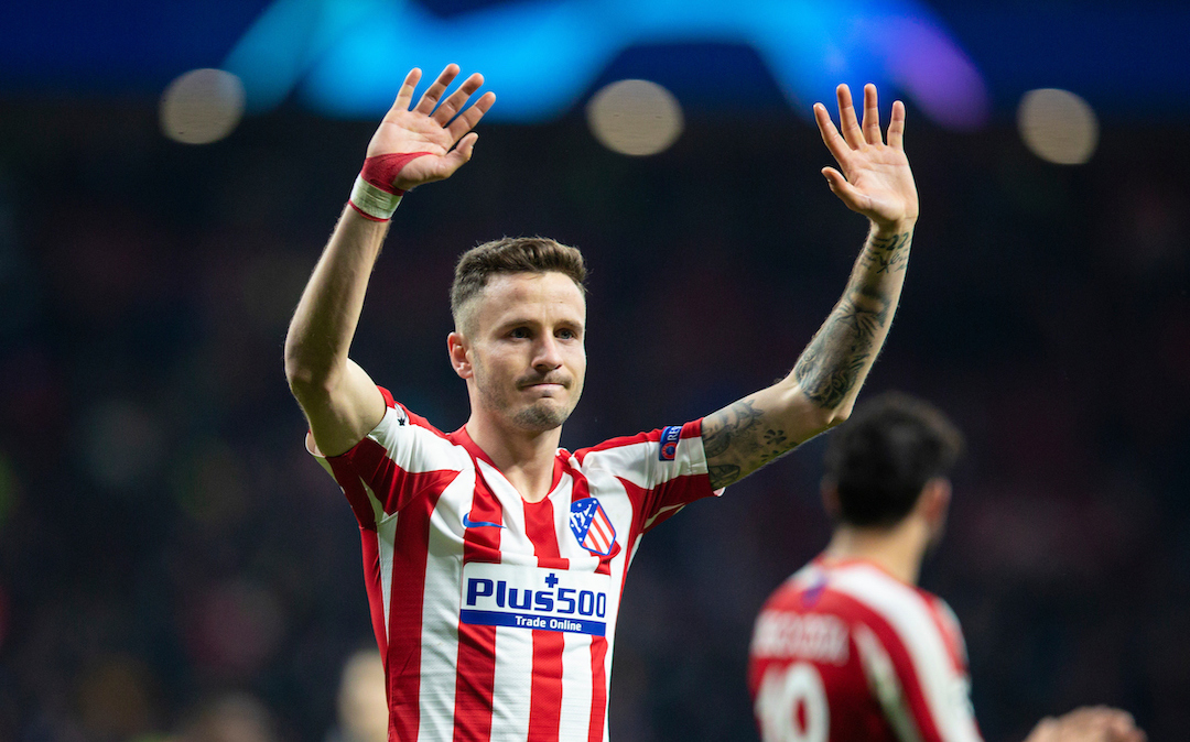 Saul Niguez The Name On Liverpool Lips?: Gutter